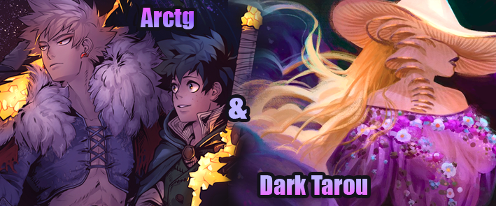 Arctg and Dark Tarou