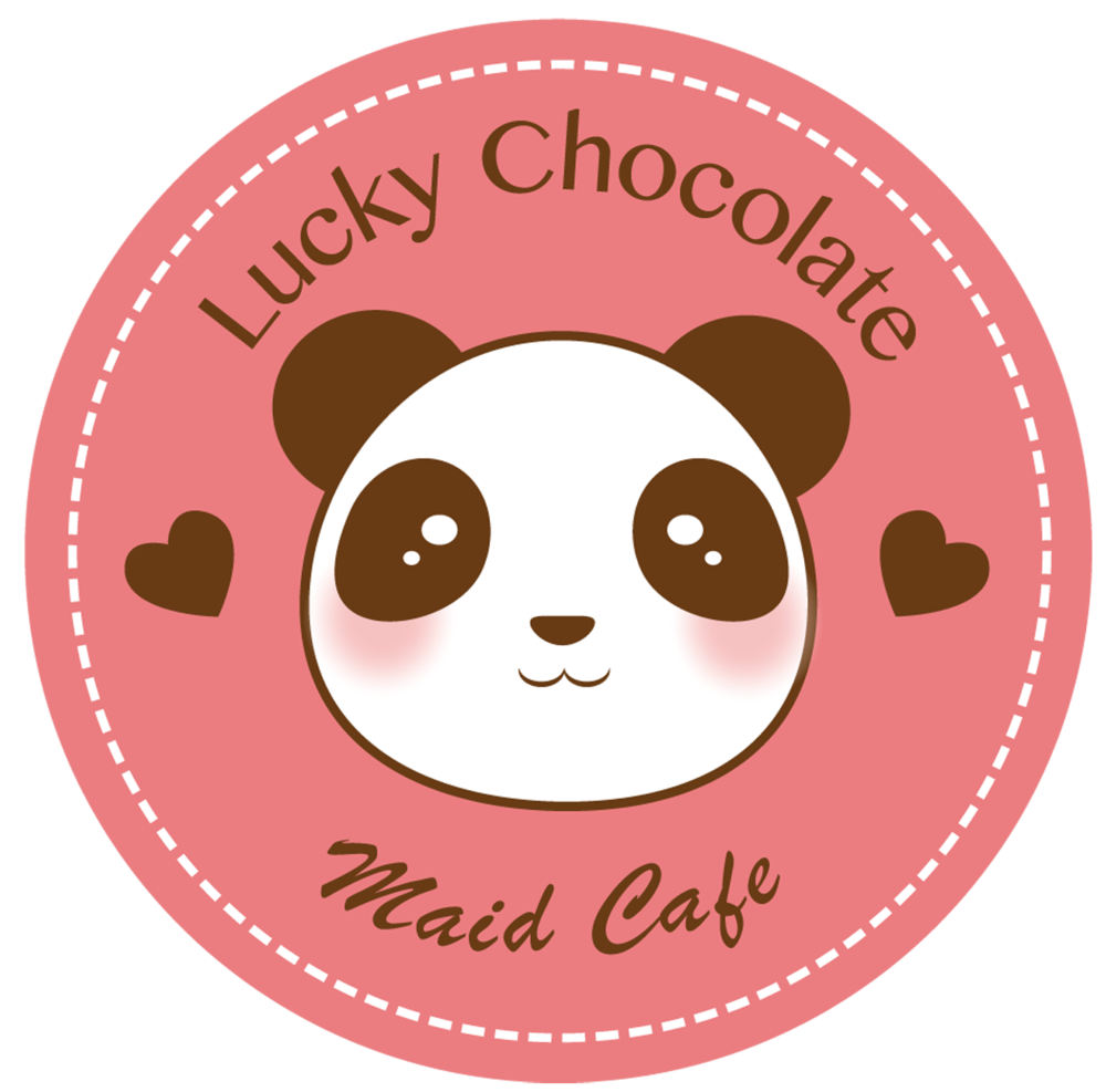 Lucky Chocolate Maid Café Logo