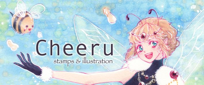 Cheeru - Illustrations and handmade Stamps